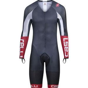 Castelli Body Paint 3.3 Speed Suit LS Herren black/white black/white