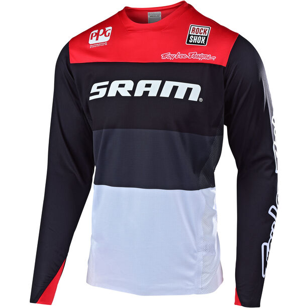 Troy Lee Designs Sprint Elite LS Jersey Herren sram beta/black/red