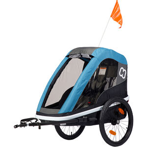 Hamax Avenida One Bike Trailer petrol blue