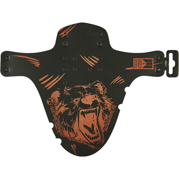 """rie:sel design schlamm:PE Front Mudguard 26-29"""" grizzly"""