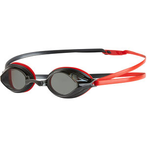 speedo Vengeance Goggles lava red/usa charcoal/smoke lava red/usa charcoal/smoke