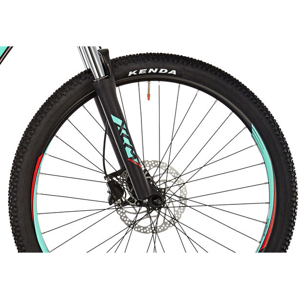 """ORBEA MX 30 27,5"""" Black-Turquoise-Red black-turquoise-red"""