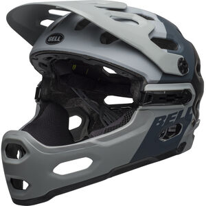 Bell Super 3R MIPS Helmet downdraft matte gray/gunmetal downdraft matte gray/gunmetal