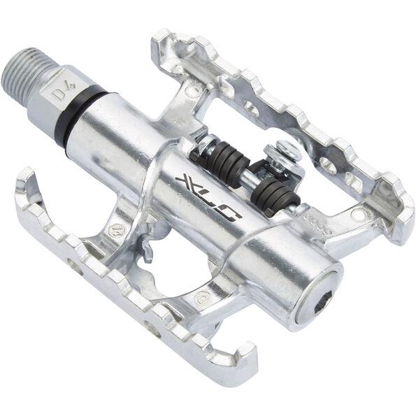 XLC PD-S10 Pedals SPD silber