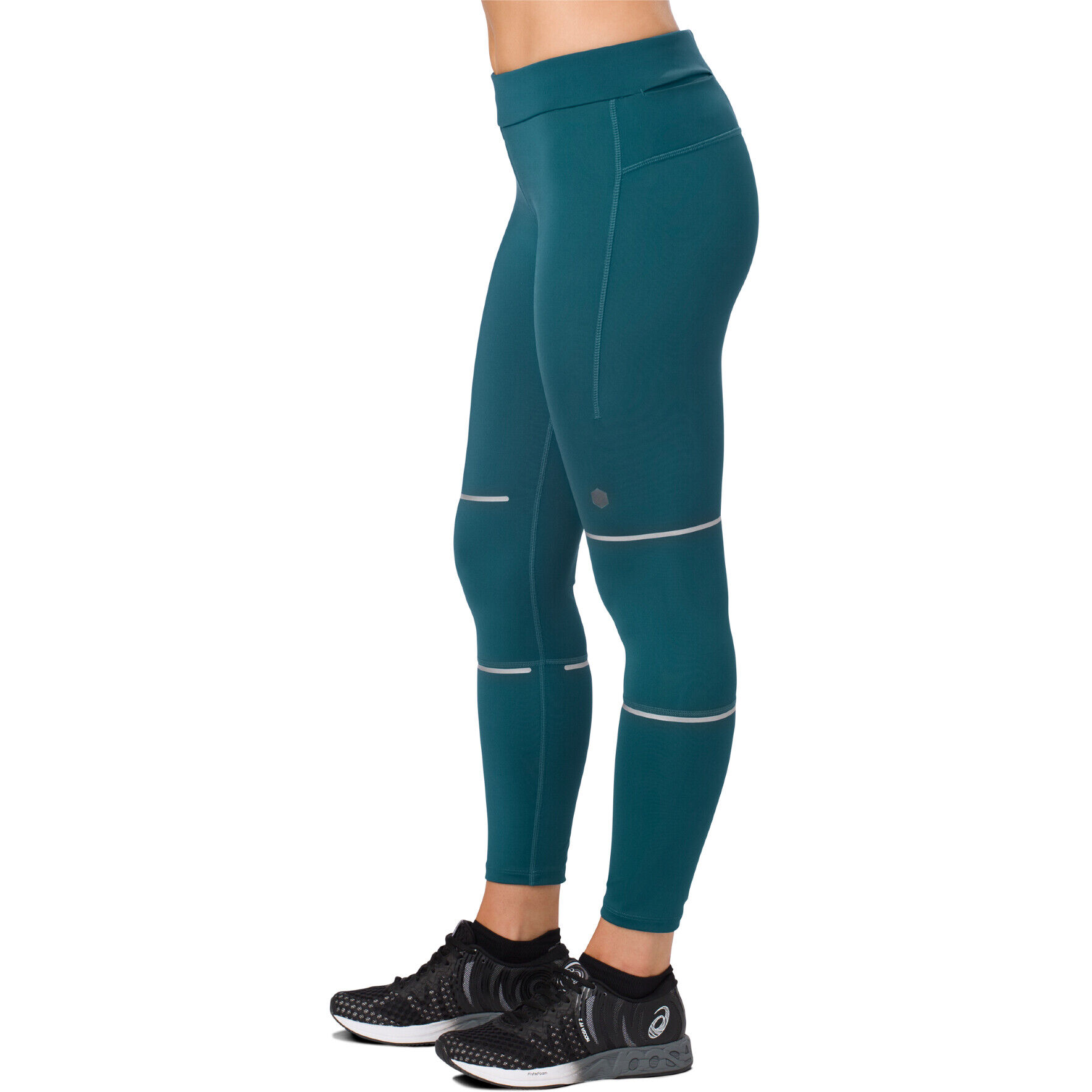 asics Lite Show 78 Tights Damen blue steel