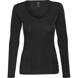 Icebreaker Siren LS Sweetheart Shirt black