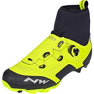 Northwave Raptor GTX Shoes Herren yellow fluo/black yellow fluo/black