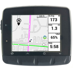 Stages Cycling Dash L50 GPS Fahrradcomputer black black