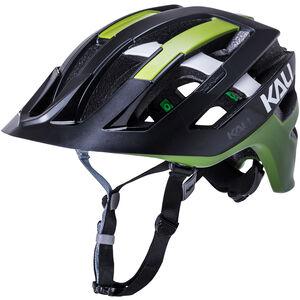 Kali Interceptor Helm matt schwarz/olive matt schwarz/olive