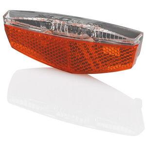 XLC Gepäckträger LED Rückleuchte inkl Reflektor E-Bike ready