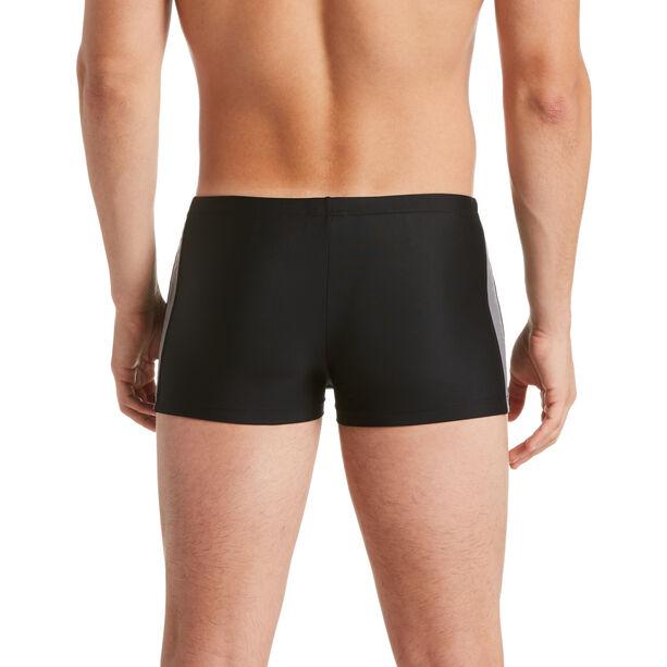 Nike Swim Logo Splice Square Leg Herren black