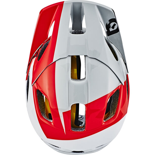 SixSixOne EVO AM MIPS Helm white/red/grey