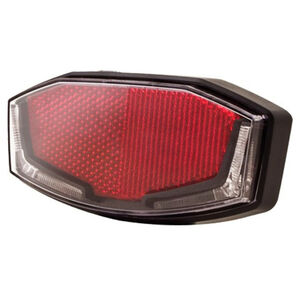 spanninga Lineo XBA Battery Rear Light StVZO black black