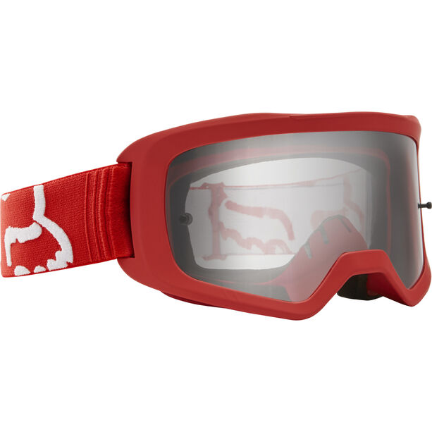 Fox Main II Race Brille red/clear