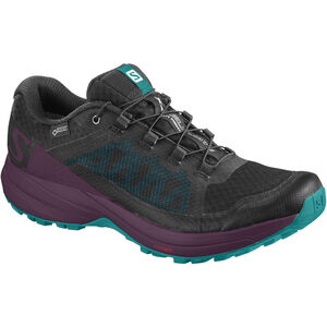 Salomon XA Elevate GTX Shoes Damen black/potent purple/tropical green black/potent purple/tropical green