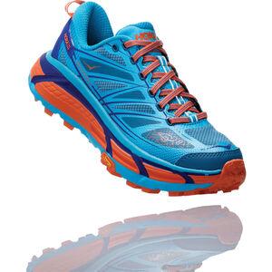Hoka One One Mafate Speed 2 Running Shoes Damen scuba blue/storm blue