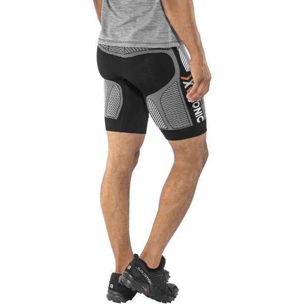 X-Bionic The Trick Running Pants Short Herren black/white black/white