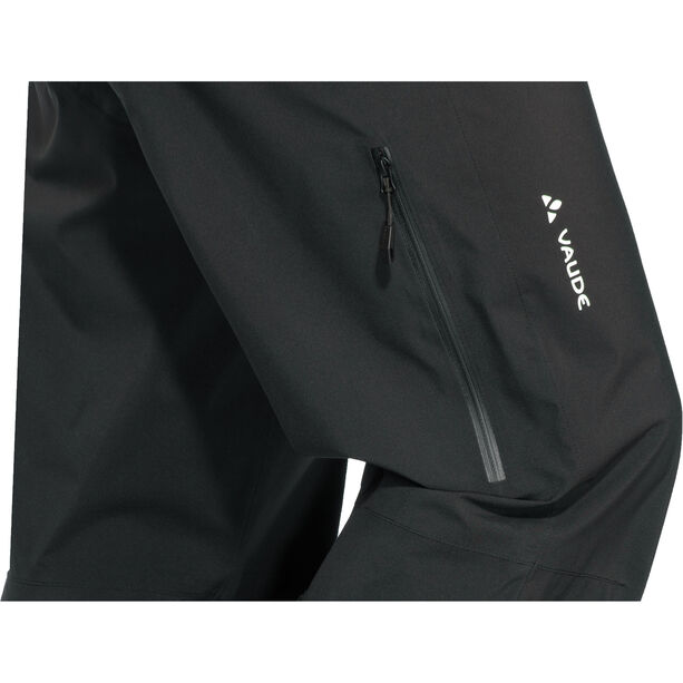 VAUDE Moab Rain Pants Herren black
