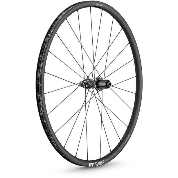 """DT Swiss CRC 1400 Spline 24 Rear Wheel 28"""" Carbon CL 142/12mm TA Shimano"""