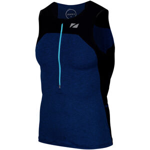Zone3 Performance Culture Tri Top Herren marl navy/black/grey marl navy/black/grey