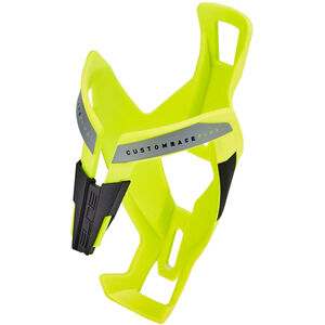 Elite Custom Race Plus Flaschenhalter gelb glänzend/schwarze Grafik bei fahrrad.de Online