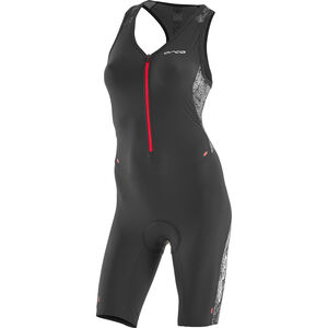 ORCA 226 Kompress Race Suit Damen orange-black orange-black