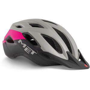 MET Crossover Helm gray/pink gray/pink