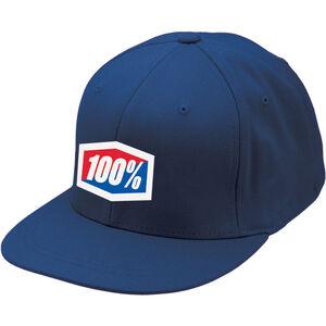 100% Essential J-Fit Hat blue blue