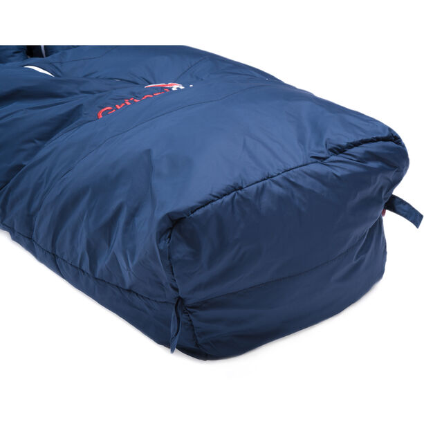Grüezi-Bag Biopod Wool Zero Schlafsack Regular night blue