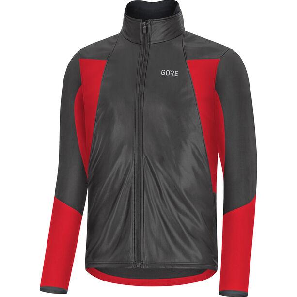 GORE WEAR C5 GTX Infinium Soft Lined Thermo Jacke Herren black/red