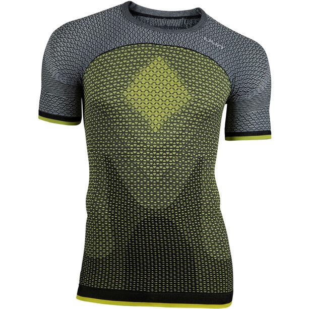 UYN Running Alpha OW SS Shirt Herren tonic yellow/sleet grey