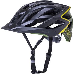 Kali Lunati Helm matt schwarz/oliv matt schwarz/oliv