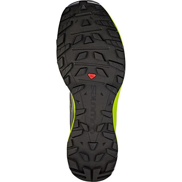 Salomon XA Discovery Shoes Herren black/lime green/magnet