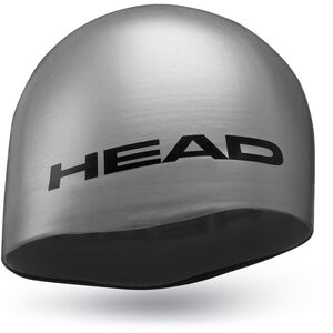 Head Silicone Moulded Cap silver silver