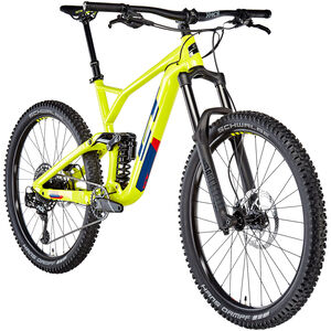 GT Bicycles Force Al Elite gloss chartreuse/deep navy/red gloss chartreuse/deep navy/red