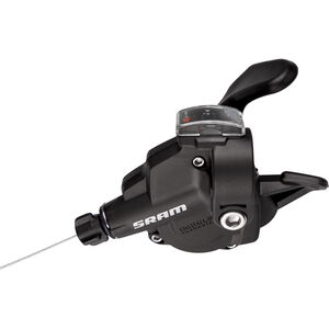 SRAM X4 Trigger Schalthebel vorne/links 3-fach schwarz schwarz