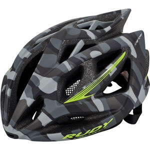 Rudy Project Airstorm Helmet grey camo-lime fluo (matte) grey camo-lime fluo (matte)