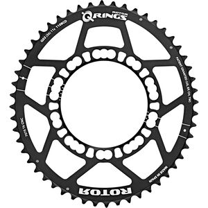Rotor Q-Ring Road Kettenblatt 110mm 5-Arm außen schwarz schwarz
