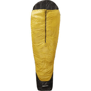 Nordisk Oscar +10° Sleeping Bag XL mustard yellow/black mustard yellow/black