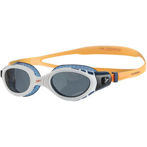 speedo Futura Biofuse Flexiseal Triathlon Goggles fluo orange/white/smoke fluo orange/white/smoke