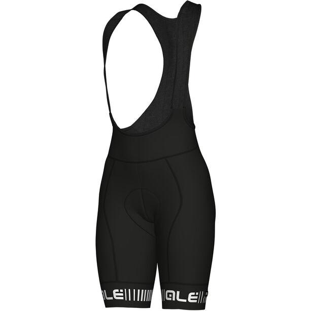 Alé Cycling Graphics PRR Strada Bib Shorts Damen black-white black-white