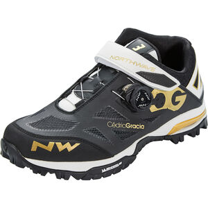 Northwave Enduro Mid Schuhe Herren black/off white/gold black/off white/gold