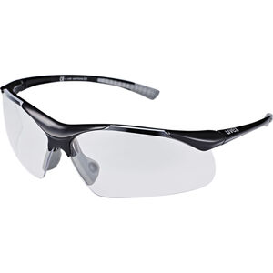 UVEX Sportstyle 223 Sportbrille black grey/clear black grey/clear