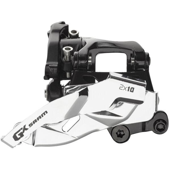 SRAM GX Umwerfer 2x10-fach Low Direct Mount Dual Pull 34/36T schwarz/silber