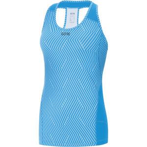 GORE WEAR R3 Optiline Sleeveless Shirt Women print dynamic cyan/marine blue bei fahrrad.de Online