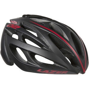 Lazer O2 Helmet black-red line