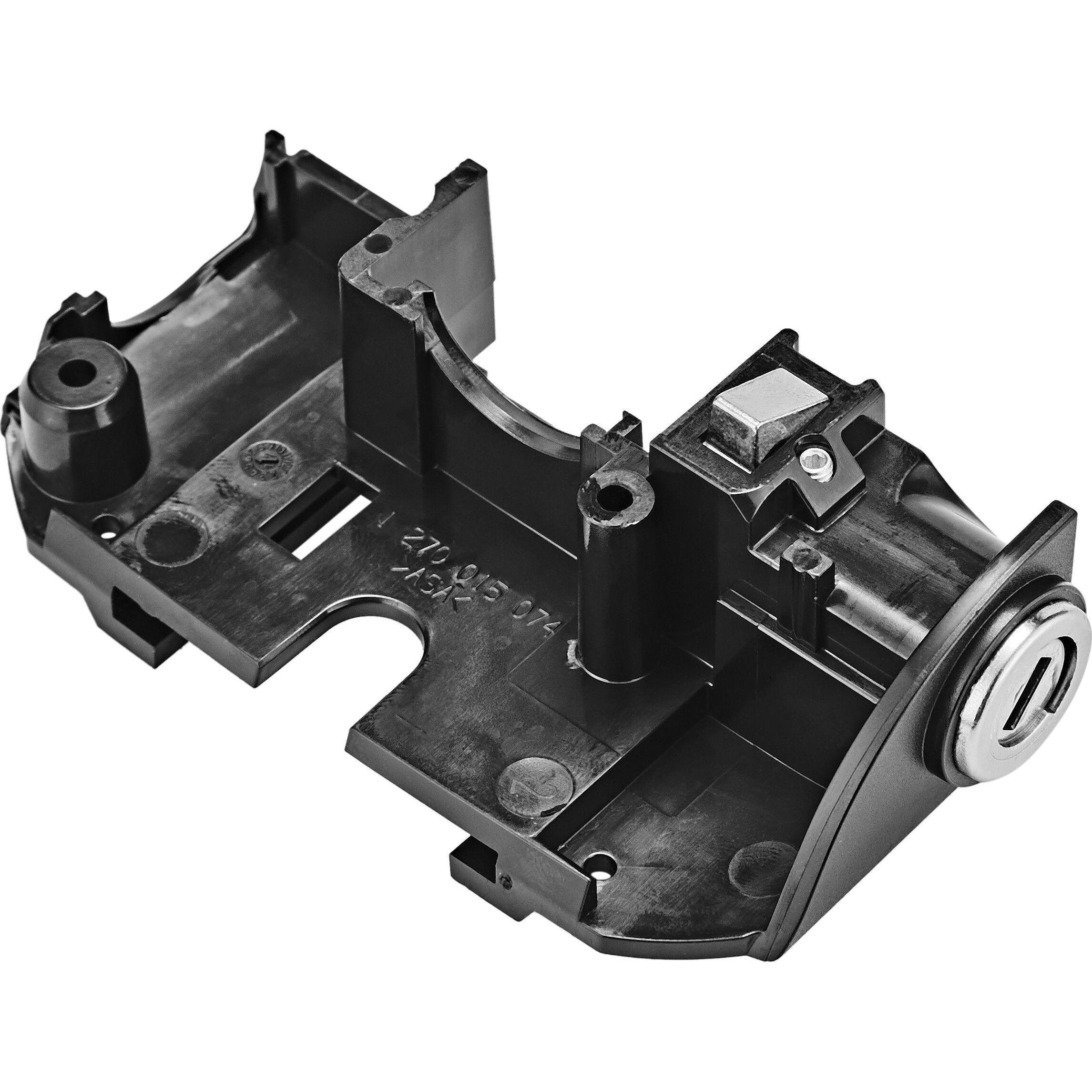 Axa One Key System Rahmenschloss für Bosch Gepäckmontage Schlüssel abziehbar