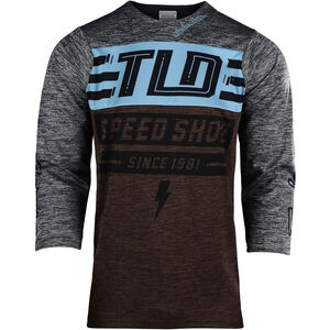 Troy Lee Designs Ruckus 3/4 Jersey Herren bolt/heather dark moka/heather gray bolt/heather dark moka/heather gray