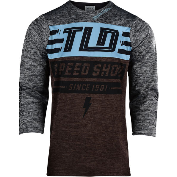 Troy Lee Designs Ruckus 3/4 Jersey Herren bolt/heather dark moka/heather gray