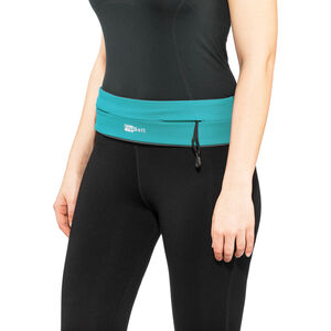 FlipBelt Zipper Fitness Gürtel aqua aqua